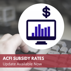 subsidy update